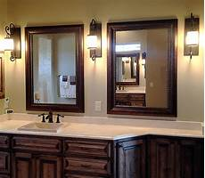 Framed Bathroom Mirror Ideas Shop Framed Wall Mirrors And Framed Bathroom Mirrors In