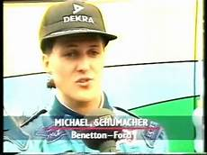 michael schumacher tod schumacher s reaction right after senna s