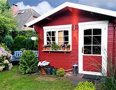 Neues Gartenhaus Streichen - gartenhaus streichen