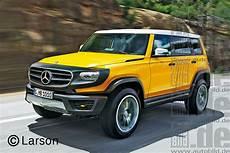 Vorschau Mercedes G Klasse Bilder Autobild De