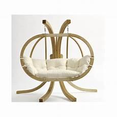 fauteuil suspendu avec support fauteuil suspendu globo royal natura avec support