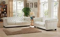 leather livingroom furniture monaco pearl white leather living room set from amax