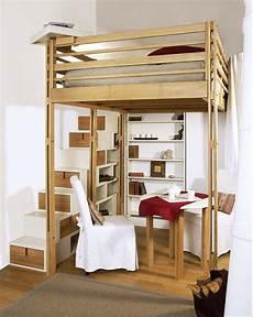 lit mezzanine adulte solide lit mezzanine adulte avec escalier rangement int 233 gr 233