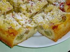 Rhabarberkuchen Mit Pudding Und Streusel - rhabarberkuchen mit quarkcreme und streuseln rezept