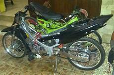 Modifikasi Motor Satria 2 Tak Road Race by Keren Modifikasi Satria 2 Tak Simple Tapi Mesin Wah