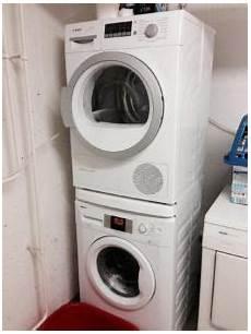 Trockner Auf Waschmaschine Stellen So Wird S Gemacht