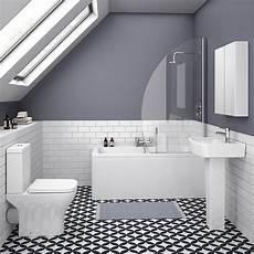 venice small 5 piece bathroom suite victorian plumbing uk