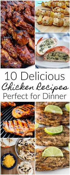 10 Delicious Chicken Recipes For Dinner Mm 156