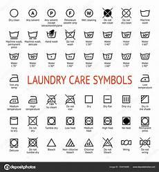 wasch symbole bedeutung laundry care symbols cleaning icons set washing