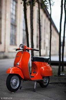 vespa primavera 1975 orange im o lack originallack vespa smallframe wie vespa 50ss et3