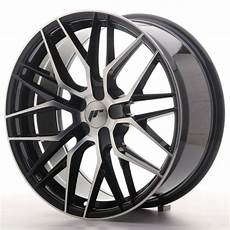 japan racing wheels jr 28 glossy black machined japan