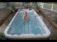 swim spa aquatic exercise with swim spas