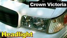 automotive repair manual 2003 ford crown victoria head up display 2003 ford crown victoria headlight head l how to install same as 2003 thru 2011 crown vic