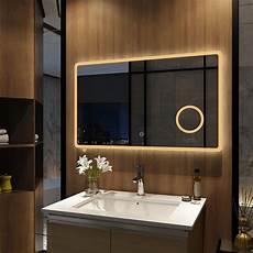 badspiegel beleuchtung emke led badspiegel 100x60cm spiegel mit beleuchtung touch