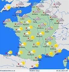 Weather Forecast Map Frances Primaria Fle
