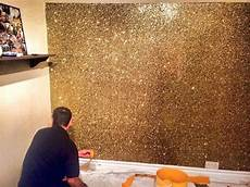 wand gold streichen could just deck out a wall with gold like make something