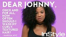 how often should you wash curly natural hair instyle youtube