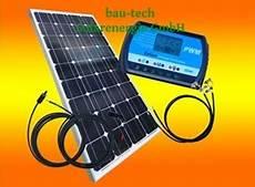 100watt 12volt Inselanlage Solar Bausatz F 252 R Garten Und