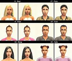 mod the sims defuglified maxis faces 27 cas