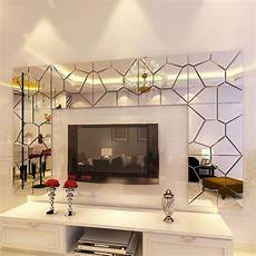 home decor decals 18cm 7pcs diy acrylic modern mirror decal mural wall