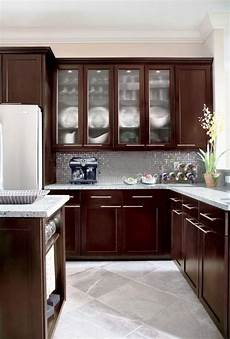 kitchens furniture espresso kitchen cabinets in 12 sleek and cool designs