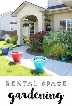Rental Homes With Gardens how to container garden make and takes