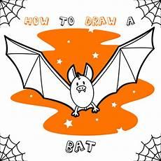 how to draw bat hellokids