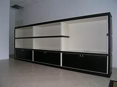mobile basso soggiorno moderno mobile soggiorno basso in listellare di rovere moro e