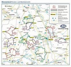 M 252 Nsterland Adfc Radausflugsf 252 Hrer Fahrradkarte