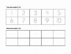 handwriting worksheets for numbers 1 10 21929 number trace 1 10 by jones teachers pay teachers