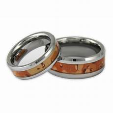 his and hers desert camo tungsten ring camouflage