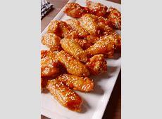 Korean Chicken Wings Recipe ? Dishmaps