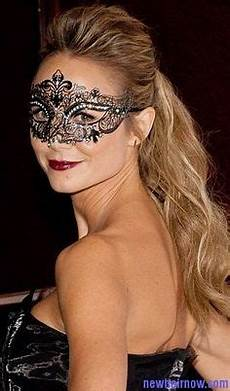 the perfect hairstyle to wear to a masquerade click for video tutorial masks pinterest