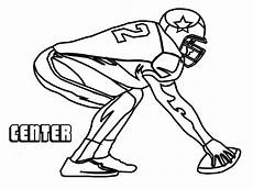 college sports coloring pages 17751 nfl football player drawings free on clipartmag