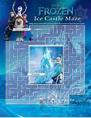 Kids N Funcom  5 Puzzle Of Maze Frozen