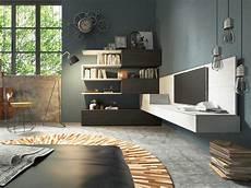 arredare pareti soggiorno soggiorno angolare moderno arredamento mobili