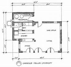 cmu housing floor plans doe solar decathlon 2002 teams carnegie mellon