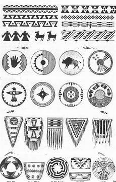 Indianische Muster Malvorlagen Xing Indianer Cheyenne Indianische Piktogramme Und Symbole