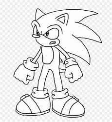 30 Gambar Kartun Sonic Hitam Putih Kumpulan Gambar Kartun