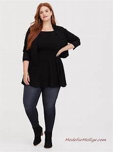 Kleider Für Mollige Junge Frauen - mode f 252 r mollige junge frauen schwarze krepp babydoll