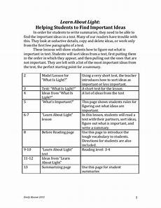 summary writing worksheets for grade 4 22902 lesson for teaching nonfiction summarizing
