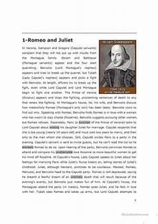 romeo and juliet esl worksheets 7 free esl romeo and juliet worksheets