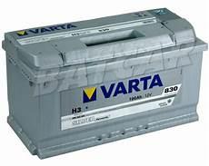 varta silver dynamic h3 12v 100ah 830a en autobatterie