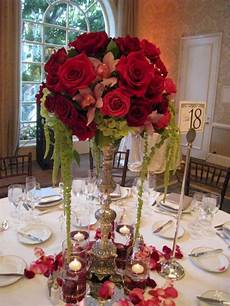30 beautiful red rose wedding centerpiece for your