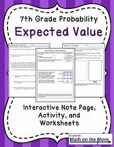 probability math worksheets 7th grade 5848 from the mixed up files whole book test a well activities and student