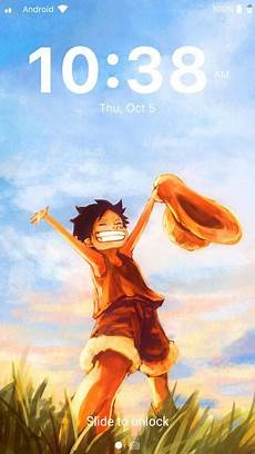 Luffy Android Lock Screen One Wallpaper