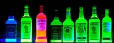 corona glowing bottle blacklight reactive uv neon great