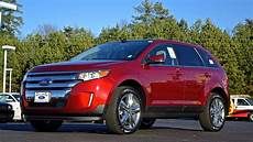 2014 ford edge limited what s new review and walkaround youtube