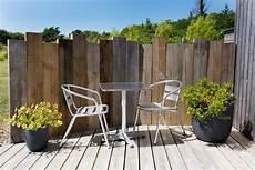 brise vue design jardin le brise vue fait maison de c 233 cile 224 porspoder leroy merlin