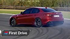 alfa romeo guilia 2016 alfa romeo giulia quadrifoglio drive review